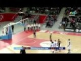 French Basketball Coach Tries To Steal The Ball From The Opposing Team