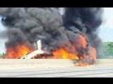 Fighter Jet Crash Kills Seven In An Airshow