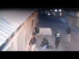 Female Terrorist Is Taken Down By Police At The Qalandia Checkpoint