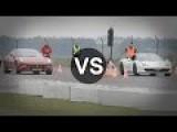 Ferrari FF Vs SLS AMG Roadster, Ferrari 458, CLK DTM