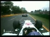 F1 Hard Crash Onboard With Amazing Sound Jacques Villeneuve Melbourne 2001