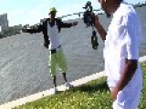 Florida Rap Artist Falls Off Seawall During Photo Shoot