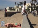 Farting On Beach Babes 2013