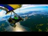 Flying A Trike Over The Majestic San Juan Islands In HD