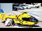 Fernando Alonso Airlifted To Hospital - FOOTAGE