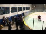 Fight In The Stands At Hockey Playoff Game