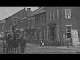 Film-Like Photographic Sequence Of Pedestrian And Carriage Traffic In Front Of The Marshall House In Alexandria, Virginia, During The Civil War