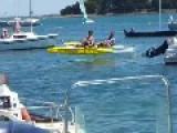 Flying Hydro Kayak!