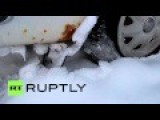 Finland: Refugees Taking Arctic Route To EU Abandon Lada Cars On Russian Border