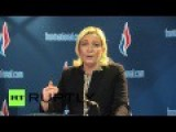 French Politician Le Pen Admits She Admires Putin