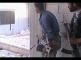 FSA Fighter Hit By SAA Sniper Bullet