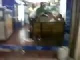 Fight Inside Restaurant