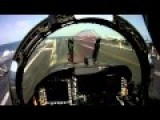 F A-18 Hornet Pilot's POV Of Catapult Launch