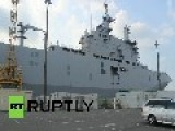 France: Mistral Warship Set To Be Delivered To Russia