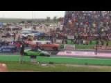 Farm Truck Races Lamborghini