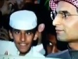 Funny Saudi Kid In The Background Of Live Interview