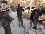 FSA-Fighters Launching Rockets With New Destinations. HD