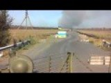 Fires Burn Behind The Last Ukrainian Checkpoints North East Of Mariupol