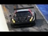 Ferrari 458 GTE Pure Sound At Monza Circuit