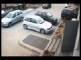 Female Driver Fails At Parking