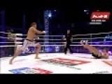 Fighter Suffers Broken Leg From Kick