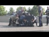 Ferguson Protester Gets Body Slammed For Holding Up Traffic