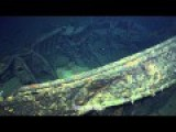 Footage Of Newly Discovered WW2 Japanese Battleship