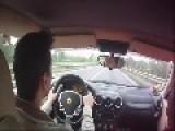 Ferrari Test Drive Mishap