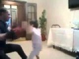 Future Athlete: 6 Year Old Chechen Boy Shows Off His Boxing MMA Skills