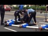 FULL RAW FOOTAGE Protestors Chained Together, Sawed Apart By DC Police