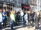 FC Cambuur Supporters VS Police In Amsterdam