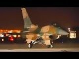 Fighter Jets Launch At Night - Las Vegas - Red Flag Operations