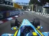 F1 Monaco 2004 - Jarno Trulli Pole Lap