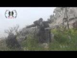 FSA Suqour Ghab Smashed An Assadist Tank Near Ariha Idlib