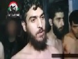 Footage Of Some Militants Surendering To The Syrian Arny