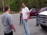 Fat Kid Beats Taller Guy With His Fat Fists