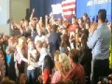 Fiorina Falls On Stage After Introducing Cruz