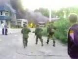 Fires Burning In Donetsk's Kuibyshev District After Shelling Today
