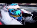 F1 2015 - Fernando Alonso Driving McLaren-Honda MP4-30 Onboard HD
