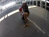 Father And Daughter Go Longboarding