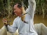 Fishing The Shrimp