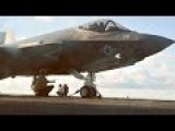 F-35C Catapult Launch: Up-close View From The Flight Deck 'Bubble'