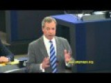 Farage Clearly Explains Why Eurocrats Are Bad For Europe