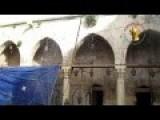 FSA Survey Damage To 700-Year-Old Bimaristan Argun Hospital In Aleppo