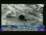 First Moments Of Air Strike On Convoy Of ISIS Leader