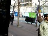 Funny Little Bum Fight In Front Of Cex In San Francisco