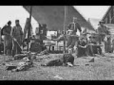 Film-Like Photographic Sequence Of Union Soldiers In A Sanitary Commission Camp During The Civil War