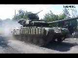 FOOTAGE OF THE RUSSIAN ARMY HEAVY TANK FORCE THAT DEFEATED THE UKR ARMY IN MARINOVKA