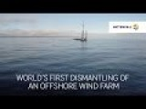 First Offshore Wind Farm Decommissioning