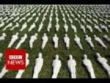 Figurines Representing Each Of The 19,240 Allied Soldiers Who Died On The First Day Of The Battle Of The Somme 100